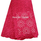 New fashion french laser cut lace fabric with nigerian beaded lace fabric