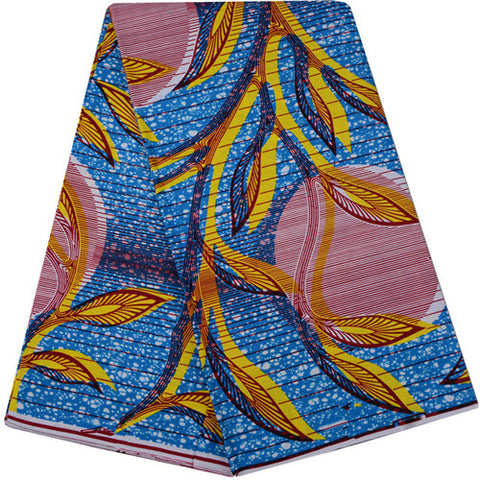 African Wax Cotton Fabric High Class African Wax Prints Fabric Super Wax Hollandais