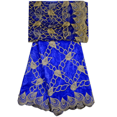 Bazin Riche Getzner 2018 Mesh Lace Pattern Embroidered Guipure African Bazin Riche Getzner Brode Bazin Brode