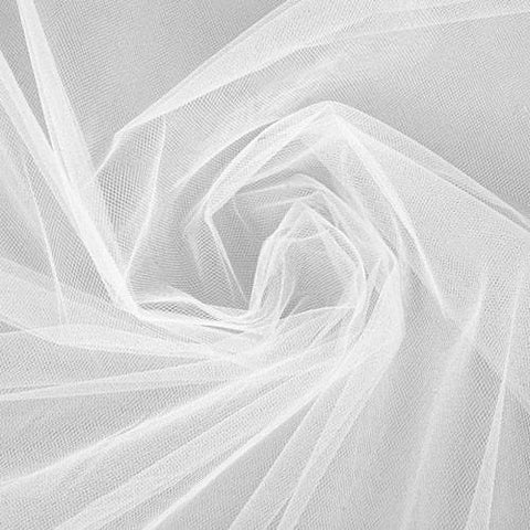 "Tulle Fabric For Wedding Favors and Decorations 54"" by 50 yards (6 Colors) - (Ships only to 48 Contiguous US States)"