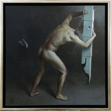 Load image into Gallery viewer, Michał Powałka | Dominus | Diptych | Oil on canvas | 50x50cm | 2019