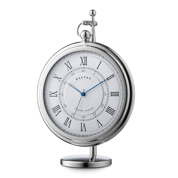 Dalvey Grand Sedan Clock White 03250