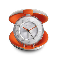 Dalvey Capsule Clock Orange 03325