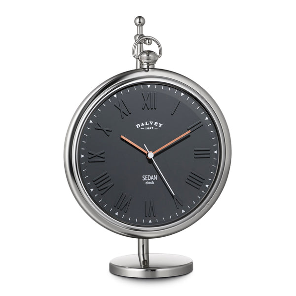 Dalvey Sedan Clock Grey 03332