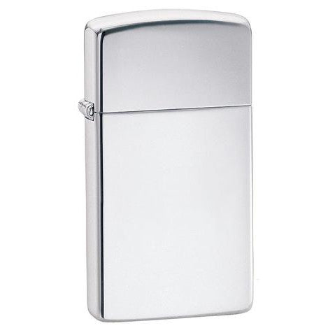 Zippo Slim® High Polished Chrome Lighter 1610