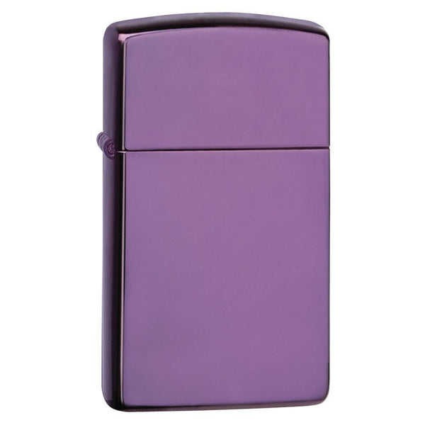 Zippo Slim High Polished Purple Lighter 28124