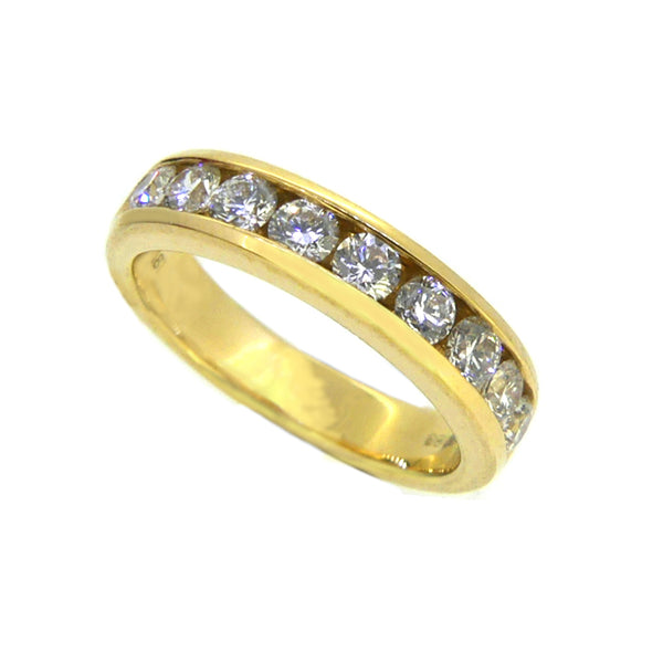Diamond Eternity Ring 0.77ct Channel Set 18ct Gold