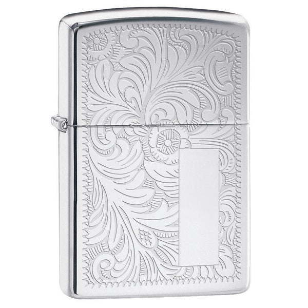 Zippo High Polished Chrome Venetian® Lighter 352