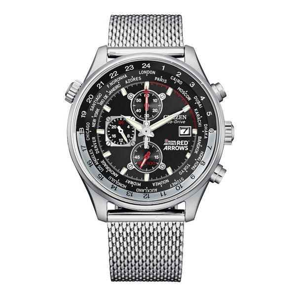 Citizen Eco Drive Mens Red Arrows Chronograph CA0080-71E