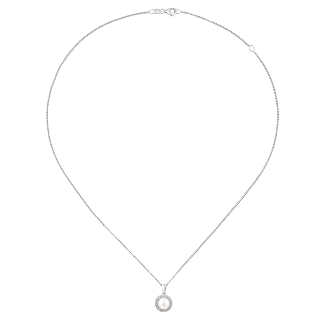 Amore Argento Pearl Necklace 6073P chain
