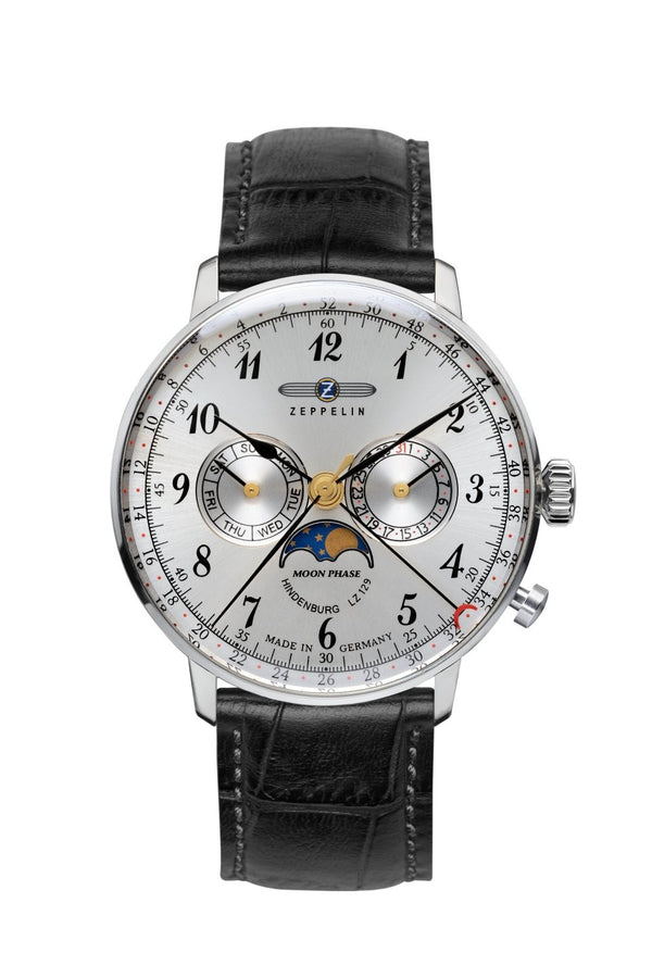 Zeppelin LZ129 Hindenburg Edition 2 Moonphase Men's Watch 7036-1