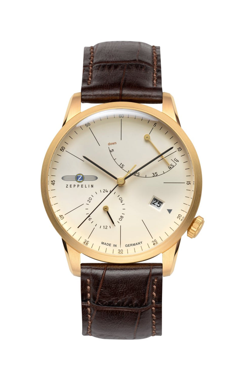 Zeppelin Flatline Automatic Men's Watch 7368-5