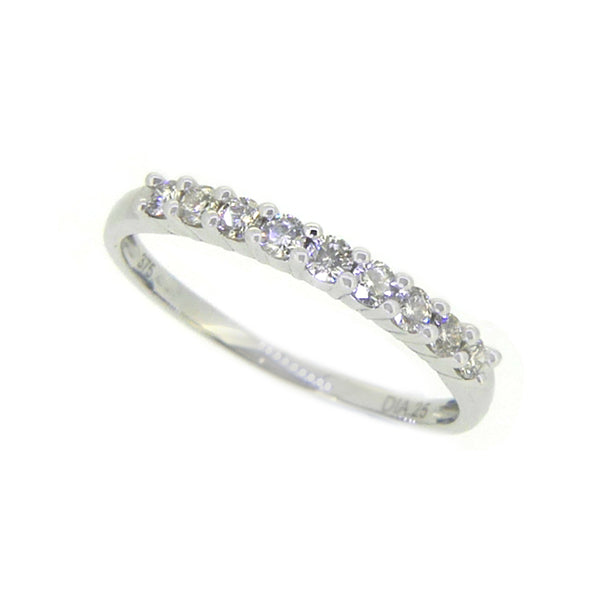 Diamond Eternity Ring 0.25ct Claw Set 9ct White Gold