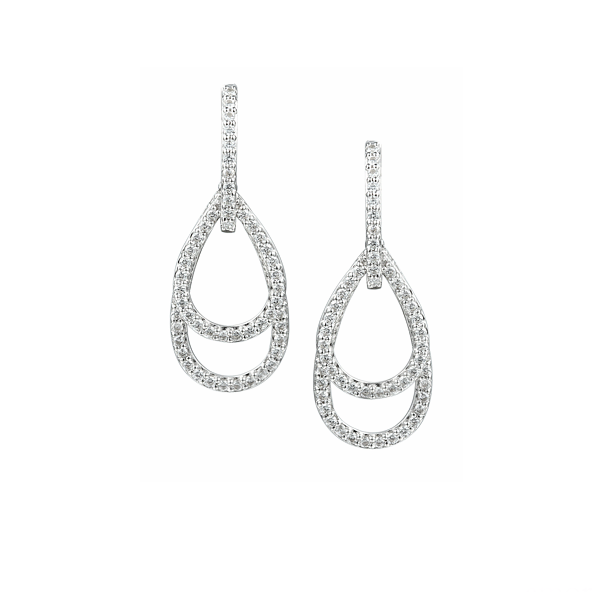 Dazzle Delight CZ Earrings by Amore 9000SILCZ