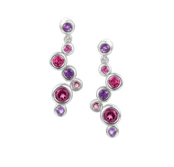 Amore Argento Rhapsody Pink Earrings 9106