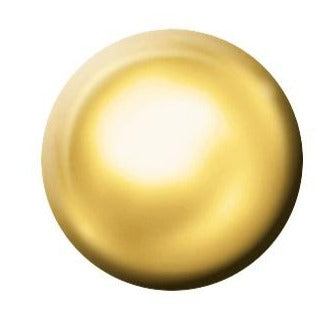 9ct Yellow Gold Regular Plain Gold Stud