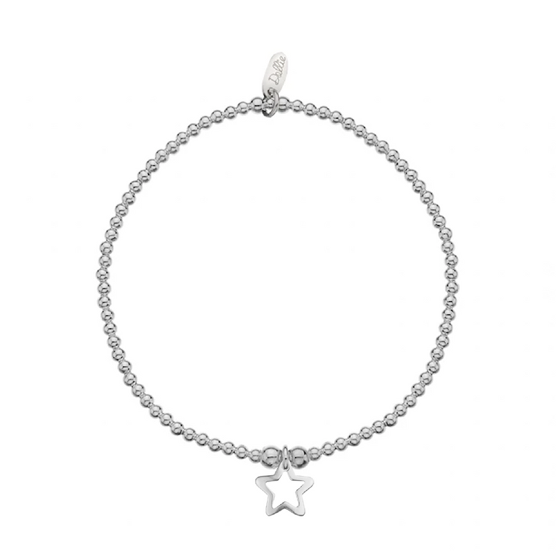 Open Star Bracelet by Dollie B0156