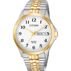 Citizen Quartz Mens Expansion Bracelet Watch BF5004-93A
