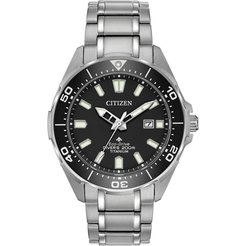Citizen Eco Drive Promaster Titanium Diver's Watch BN0200-56E