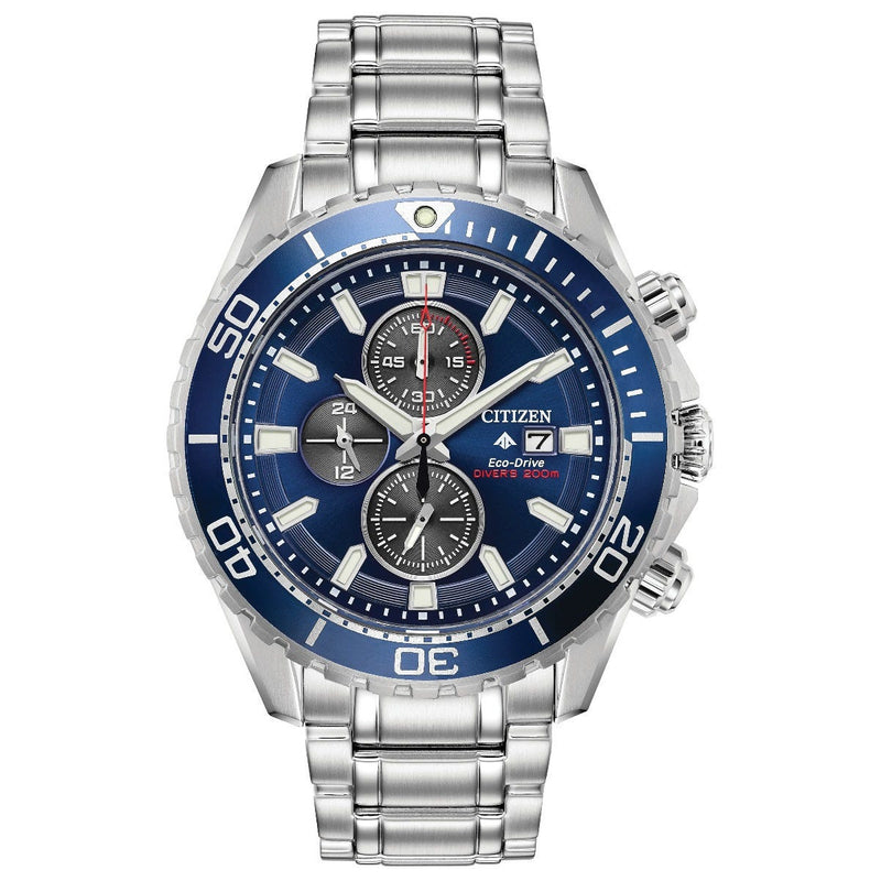 Citizen Eco Drive Promaster Diver Chronograph Men's Watch CA0710-82L