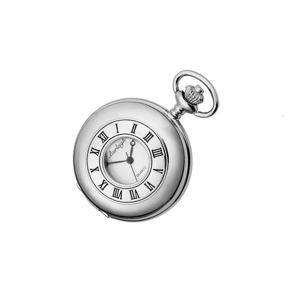 Burleigh Half Hunter Pocket Watch