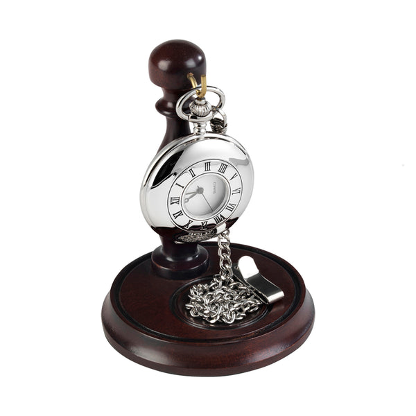 Burleigh Half Hunter Pocket Watch 1925 with Stand