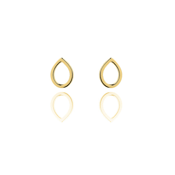 Unique & Co Gold Teardrop Earrings DE-19