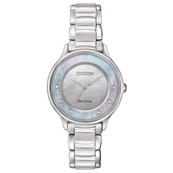 Citizen Ladies Eco Drive Circle of Time Diamond Watch EM0380-81N