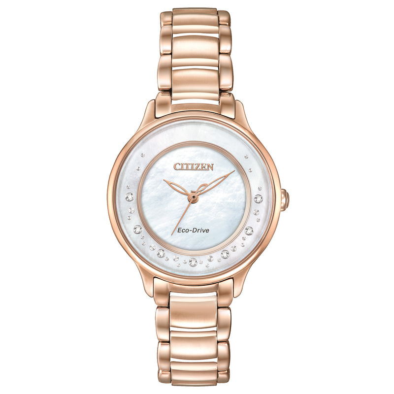 Citizen Ladies Eco Drive Circle of Time Diamond Rose Watch EM0382-86D