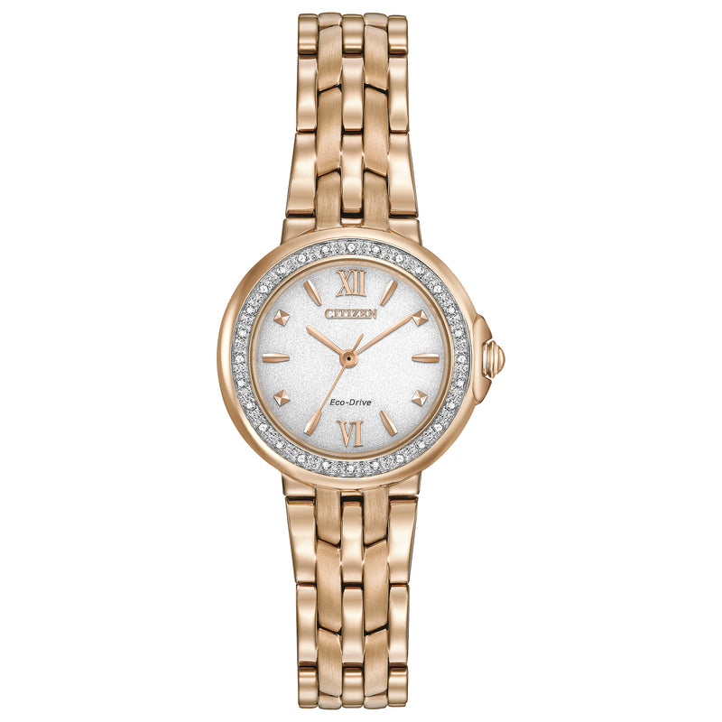 Citizen Eco Drive Ladies Diamond Collection Watch EM0443-59A