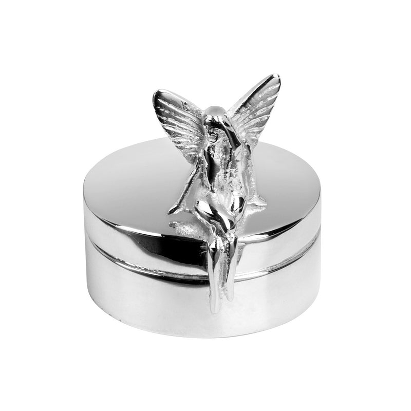 Silver Plated Tooth Fairy 1st Tooth Box 9280