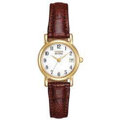 Citizen Eco Drive Ladies Strap Watch EW1272-01A
