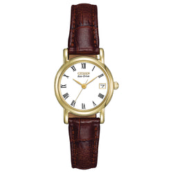 Citizen Eco Drive Ladies Strap Watch EW1272-01B