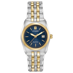 Citizen Ladies Eco Drive Corso Two Tone Bracelet Watch EW2294-53L