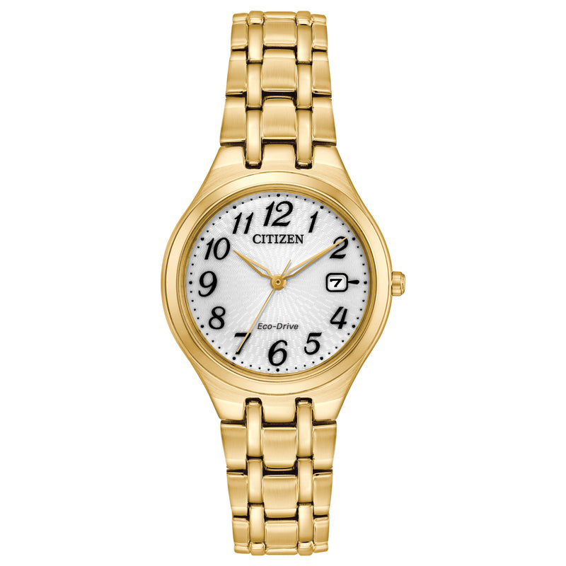 Citizen Eco Drive Ladies Silhouette Watch EW2482-53A
