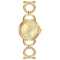 Citizen Eco Drive Ladies Silhouette Bracelet Watch EX1452-53P