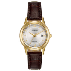 Citizen Ladies Eco Drive Strap Watch FE1082-05A