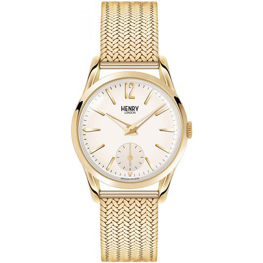 Henry London Ladies Westminster Mesh Bracelet Watch HL30-UM-0004