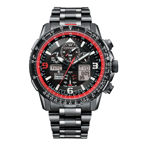 Eco Drive Red Arrows Radio Controlled Chronograph Ltd Edition Men's Watch JY8087-51E