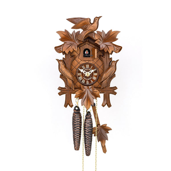 Hubert Herr Black Forest Quartz Cuckoo Clock 800/1