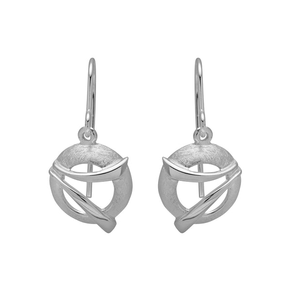 Unique & Co Sterling Silver Drop Earrings  ME-431