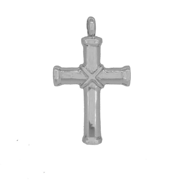 Sterling Silver Ash Holding Cross Pendant