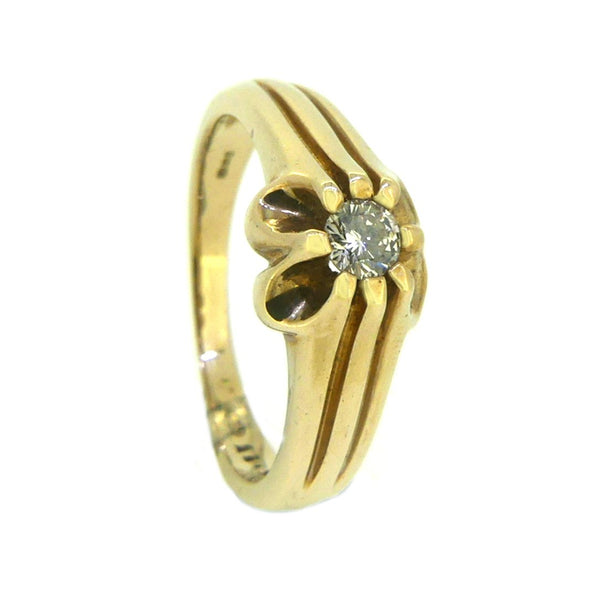 Men's Diamond 0.25ct Ring 9ct Gold 2