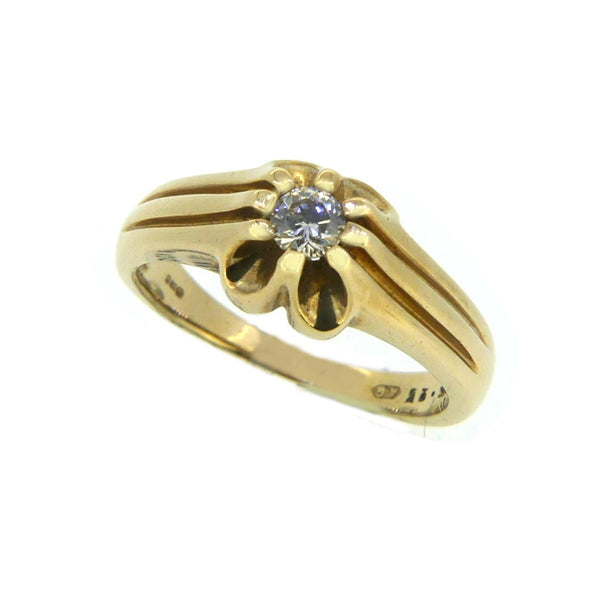Men's Diamond 0.25ct Ring 9ct Gold