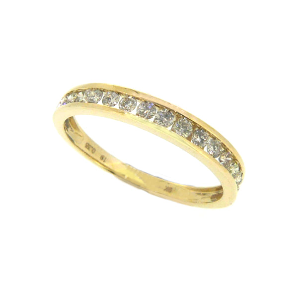 Diamond Eternity Ring 0.35ct Channel Set 9ct Gold