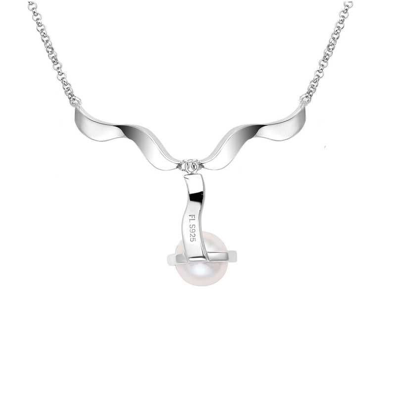 Fei Liu Pirouette Ribbon Necklace