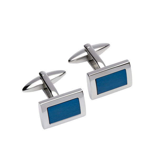 Unique & Co Mens Steel Cufflinks QC-210