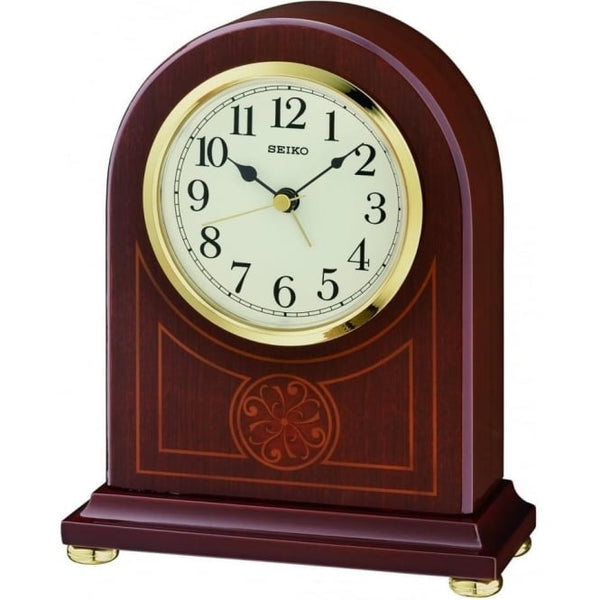 Seiko Wooden Mantle Clock QXE057B