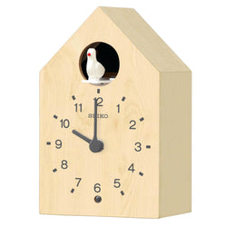 Seiko Bird Chime Mantle Clock QXH070A