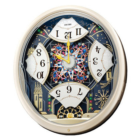 Seiko Melody in Motion Wall Clock QXM239S
